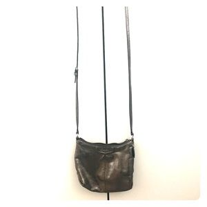 Metallic Coach Crossbody Bag